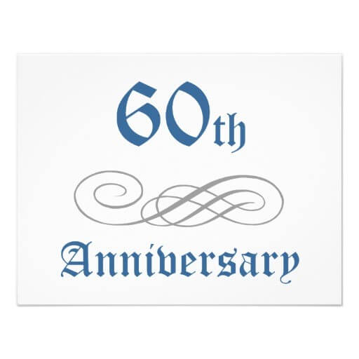 Our 60th Anniversary